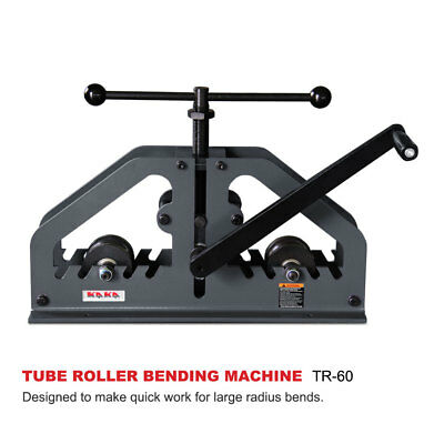 KAKAIND TR60 Tube Pipe Roller Bender, High Quality and Versatility Radius Bender