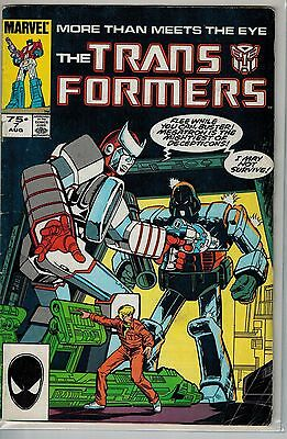 Transformers - 007 - Marvel - August 1985