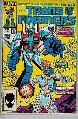 Transformers - 009 - Marvel - October 1985