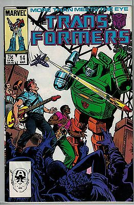 Transformers - 014 - Marvel - March 1986