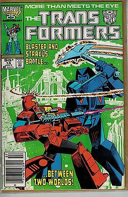 Transformers - 018 - Marvel - July 1986 - .95 cents