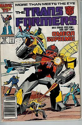 Transformers - 019 - Marvel - August 1986