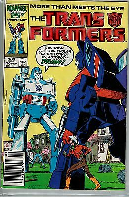Transformers - 020 - Marvel - September 1986