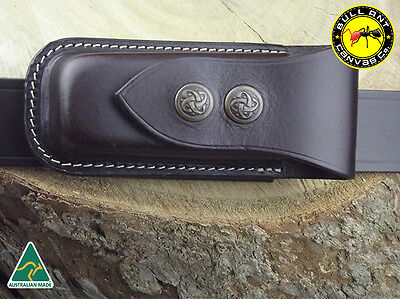 Horizontal Leather Pouch To Suit Leatherman Wave Multitool