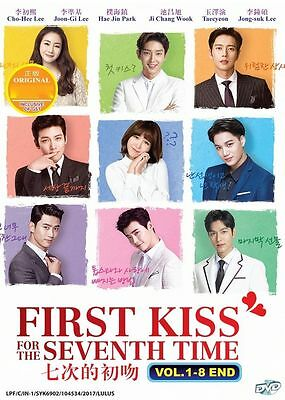 DVD Korean Drama : First Kiss for the Seventh Time ( Vol. 1-8 End ) English SUB