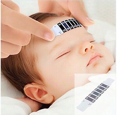 Baby Kids Adults Forehead Thermometer Strips Fever Temperature USA SELLER
