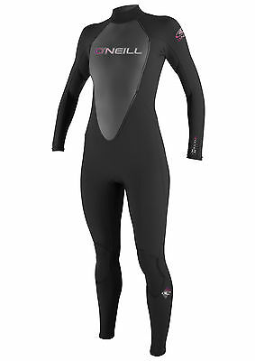 O'Neill Reactor 3/2mm  Ladies Wetsuit (2017) in Black