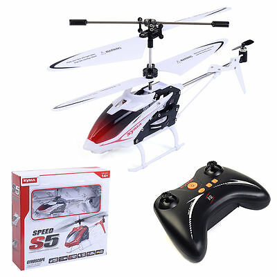 Syma S5 Mini RC Helicopter 3 Channel Infrared Radio Control Gyro Anti Shock