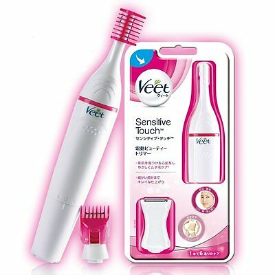 Veet sensitive touch electric powered trimmer shaver facial delicate zone F/S