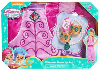 Nickelodeon Shimmer and Shine Dress Up Set - Shimmer Play Costume Genie Kids