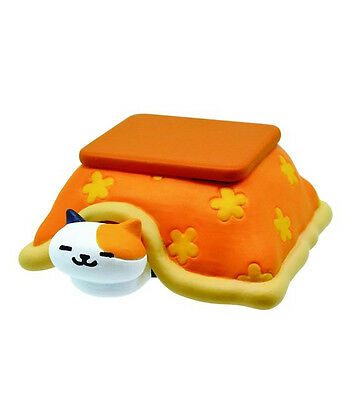 Neko Atsume Desktop PVC Mascot Decoration SD Figure ~ Sunny & Kotatsu @11395