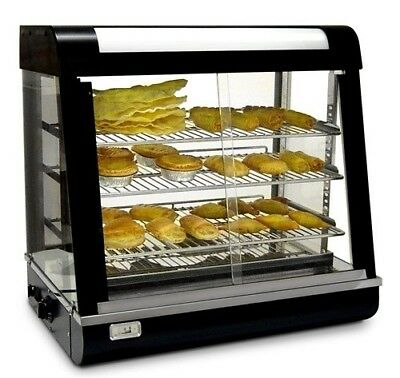 New Infernus Heated Display Cabinet Food /Pie /Chicken Warmer Showcase-66cm