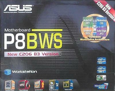 Zubehör Asus P8B WS Workstation manual CD DVD s-ata3 Kabel io shield NEU OVP xwx