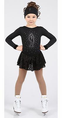 Elite Xpressionn XS1632 figure skating dress- junior - FREE P&P