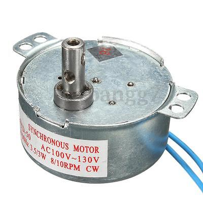 AC 110V Synchronous Motor 8/10RPM CW/CCW TYD-50 3W Low Noise Robust Torque Motor