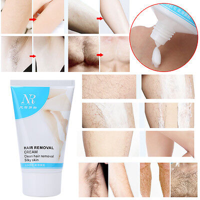 Unisex Herbal Permanent Hair Removal Cream Stop Hair Growth Inhibitor Remover MZ
