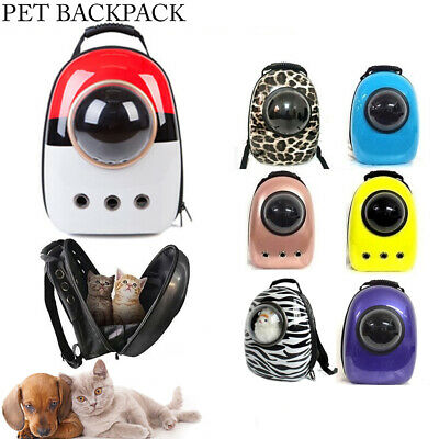 2017 New Breathable Backpack for Pets Dog Cat Capsule Carrier Carry Bag Travel