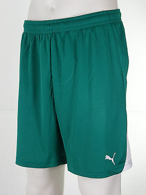 Puma PowerCat 5.10 Men's Football Shorts 'Puma Green/ White Trim' Sizes S to XXL
