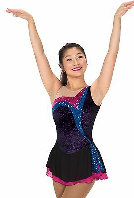 Jerry's 246 Stream of Sequins figure skating dress - senior - NEW LOWER PRICE