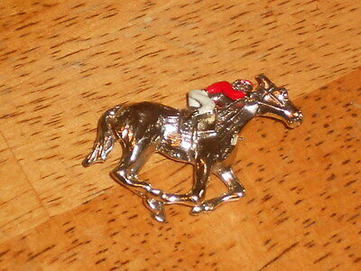 Vintage EQUESTIAN Horse  rider Pin