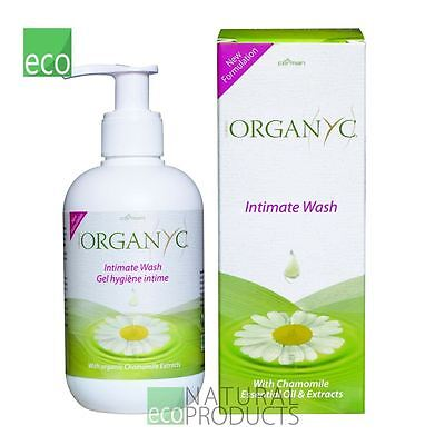 Organyc Intimate Wash 250ml