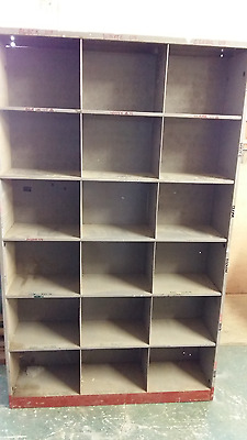 Metal Vintage Industrial Storage Unit
