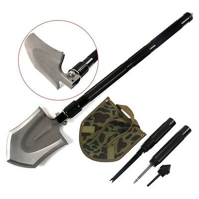 Newest Camping Shovel Outdoor Hiking Emergency Survival Spade Climbing Equipment