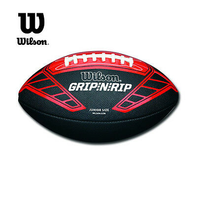 Wilson American Football Recreational Use Kids Size NFL GRIP N RIP Junior Ball