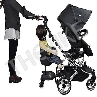 Englacha Cozy Stroll Patented Handle Extension Bar lightweight Universal Black
