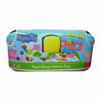 Peppa Pig Picnic Activity Creative Play Dough Set With Carry Case Age 3+