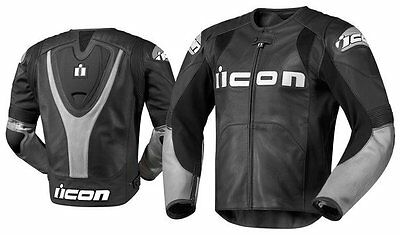 Icon Leather   Jacket Overlord PRIME  Black MEDIUM GIACCA MOTO pelle
