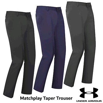 Under Armour Golf Trousers Match Play Mens Tapered Golf Trousers Pants New 2017