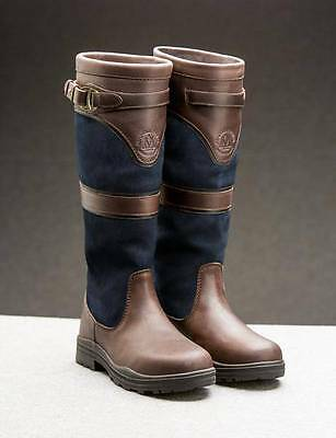 NEW Mountain Horse Devonshire Waterproof Country Boots - NAVY - RRP £249.99