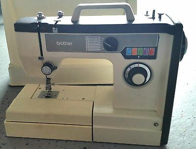 PORTABLE BROTHER SEWING Machine Model VX 40 Wmanual CaseZigZag Simple Brothers Sewing Machine Manual