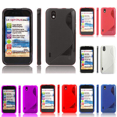 S-Line TPU Gel Soft Silicone Case High Quality for Series LG Models