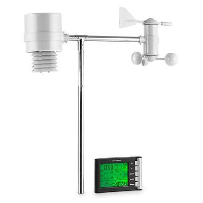 Oneconcept Outdoor Wireless Weather Station With Lcd Display