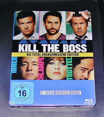 Kill The Boss Die Total Unangemessene Edition Limitierte Steelbook Blu Ray Neu