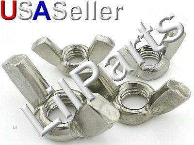 Stainless Steel SS Wing Nuts Nut Metric 304 M3 M4 M5 M6 M8 M10 M12