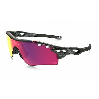 Lunettes Oakley Tdef Radarlock Path Grey Smoke Prizm Road Clear