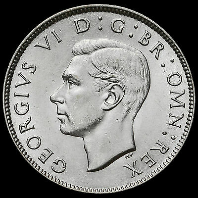 1945 George VI Silver Two Shilling Coin / Florin – A/UNC #3