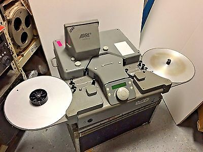Arri Loc Pro 35mm Cine Film Editor Viewer Excellent shape fully serviced!