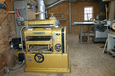 """18"""" Powermatic planer w/sharpening attachment.  American made"""