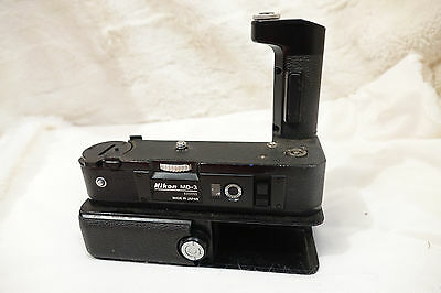 Nikon MB-1 MD-3 Nikon F2 Motordrive See pictures md3 MD3