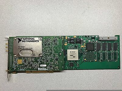 National Instruments NI PCI-5421 16-Bit 100 MS/s Arbitrary Waveform Generator