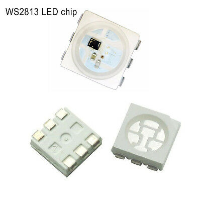 WS2813 LED Pixels Chips 6pin SMD 5050 Digital Individually Addressable B/W Chip