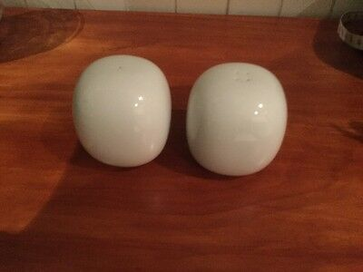 Rosenthal Suomi White Salt And Pepper Shakers
