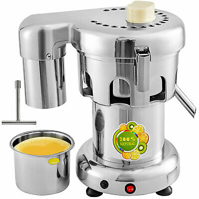 2800 RPM Commercial Auto Fruit Squeezer Juicer Juice Extractor Machine