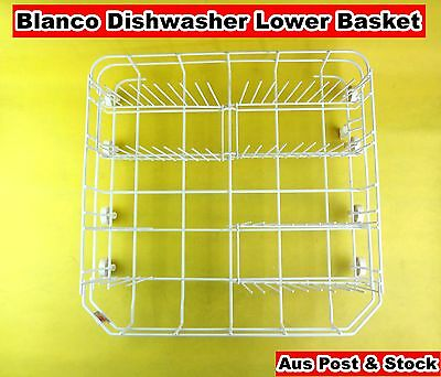 Blanco Dishwasher Spare Parts Lower Rack Basket Replacement White (S239) Used