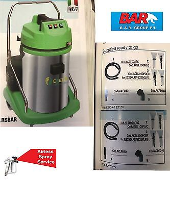 Bar / Egeco Car Detailing Vacuum / Extractor - Made In Italy