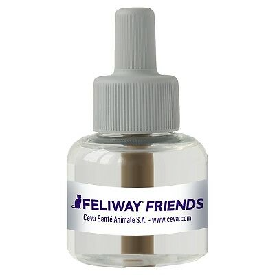 Feliway Friends Pheromone Diffuser Refill 48 ml Cat Stress Reducing 066810
